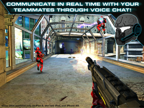 N.O.V.A iOS Game Screenshots