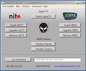 NitoTV installer for Windows