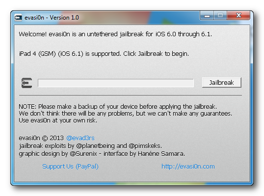 how to jailbreak iPad on iOS 6.1.2