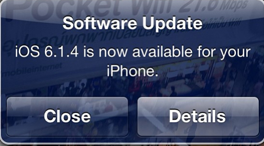 iOS 6.1.4 for iPhone