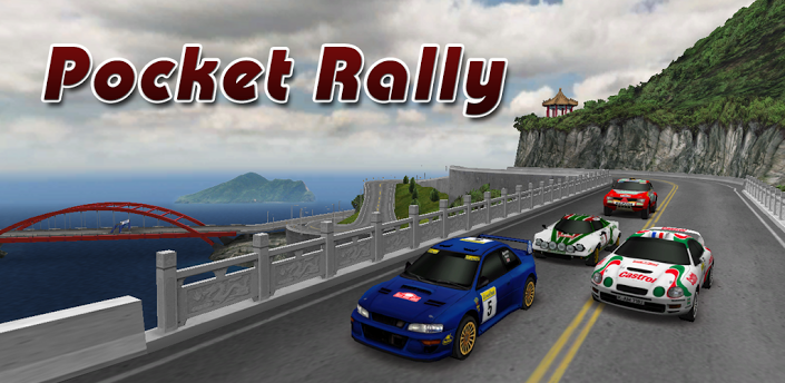 Pocket Rally Game App for Android Phone