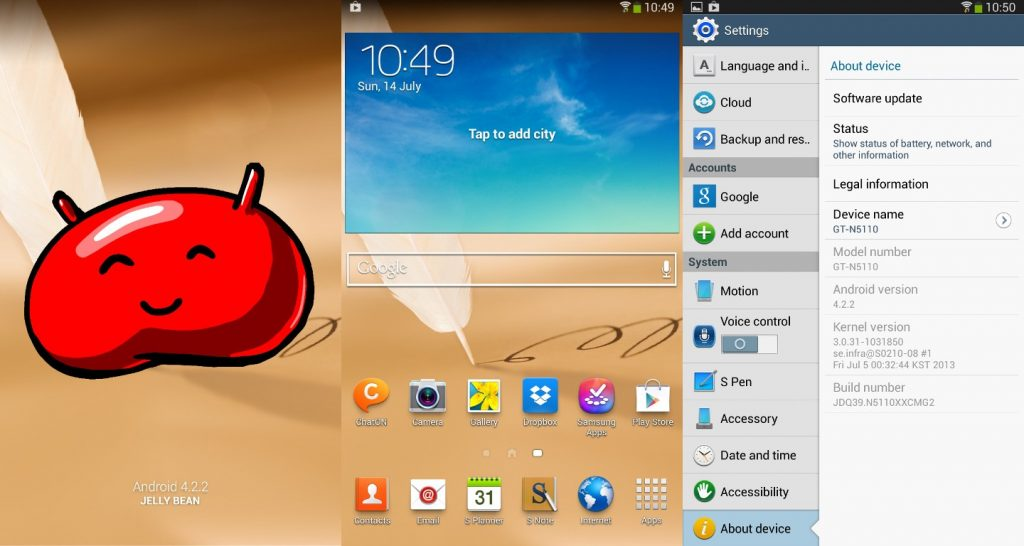 Download and Install Leaked Android 4.2.2 Firmware for your Galaxy Note 8.0 WiFi GT-N5110