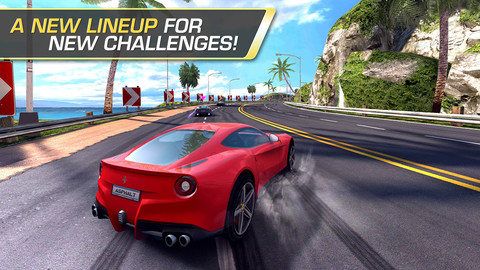 Asphalt 7: Heat Best iPhone Racing Games