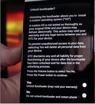Do you want to Unlock Bootloader on HTC One?