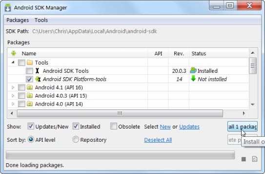 Android-SDK-Platform-tools