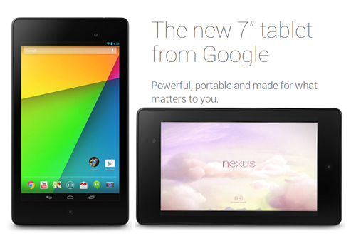 The New Google Nexus 7 2013