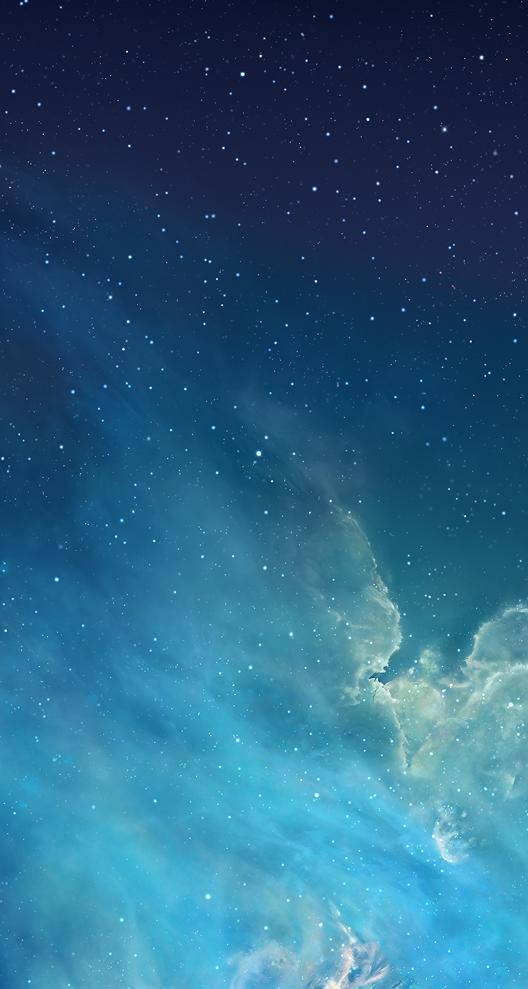 iOS7 Official Wallpapers