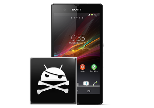 Rooted Sony Xperia Z
