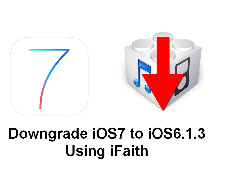 iOS7 Downgrade Tutorial