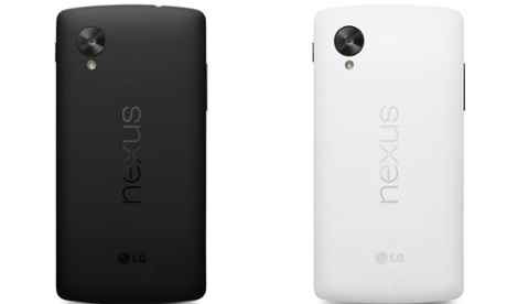 Nexus 5 in Black and White Colors