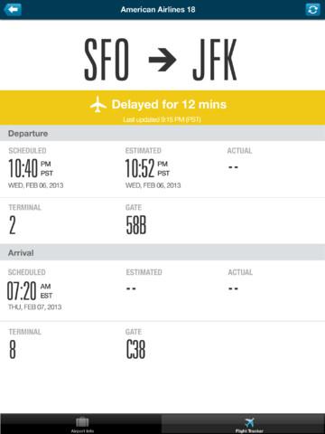 Travel App for iPad