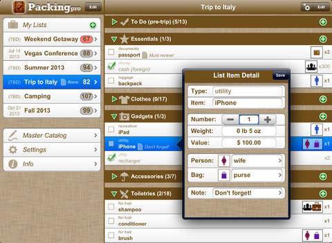 Travel App for iPad&iPhone
