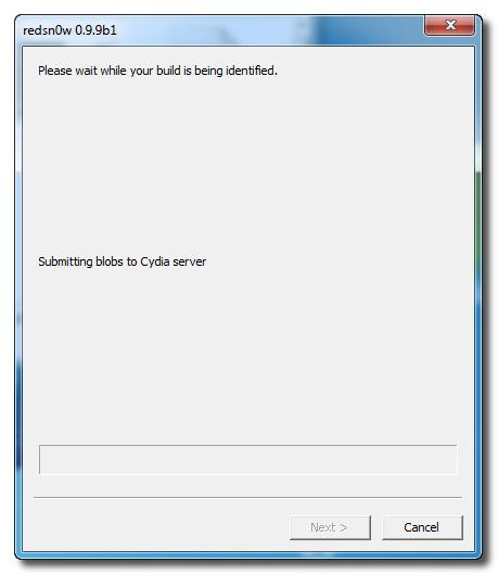 Redsn0w: Submitting SHSH Blobs to Cydia Server