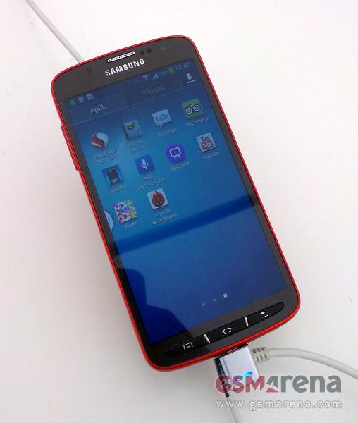 Menu of Samsung Galaxy S4 Active Water Resistant