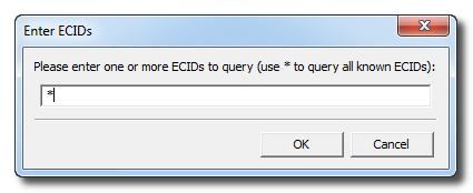 Redsn0w: Enter ECIDS