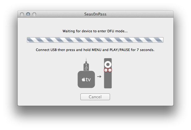 Enter DFU Mode Apple TV Jailbreak