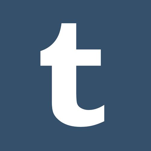 The logo of Tumblr