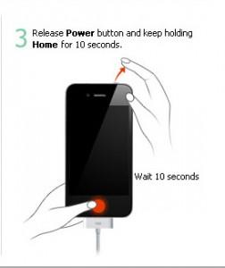 Instruction to Enter DFU Mode on iPhone, iPad and iPod