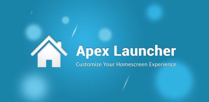 Apex Launcher: The Best Anroid Laucher 2013