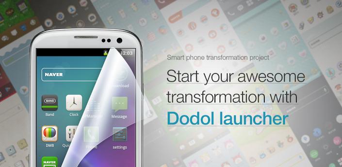 Dodol Launcher: Best Android Lauchers 2013