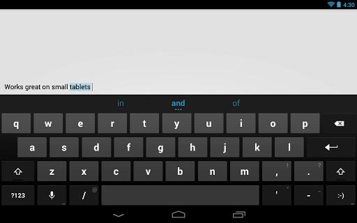 Google Keyboard Screenshot