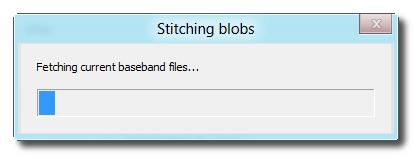 Redsn0w Downgrade iPad now Stitching SHSH Blobs