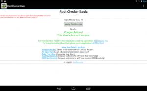Galaxy Tab 7 Plus: Root Checker