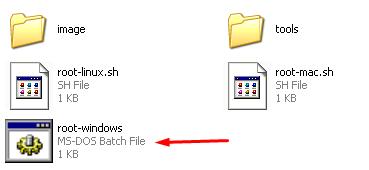 Nexus 10 - root windows.bat file