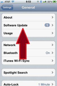 iOS7 Software Update